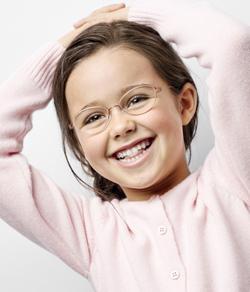 Mädchenbrillen